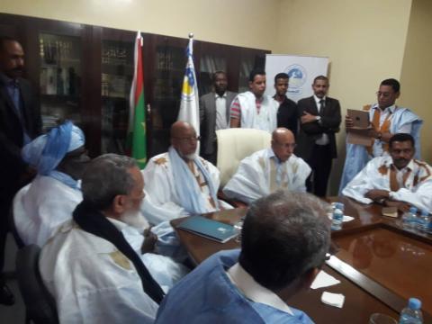Ould Ghazwani multiplie les rencontres